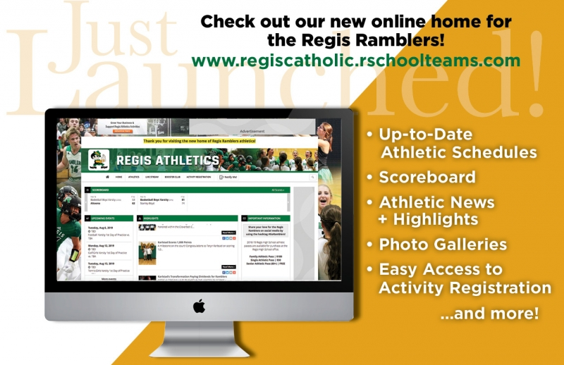 New Regis Ramblers Athletics Website